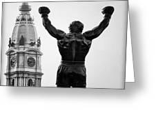 Rocky And Philadelphia Greeting Card