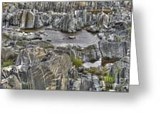 Rocky Arctic Shoreline Greeting Card