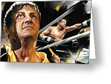 Rocky Artwork 1 Greeting Card