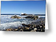 Rocky Beach On 17 Mile Drive Greeting Card