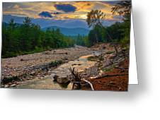 Rocky Branch Sunset Greeting Card