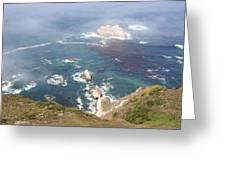 Rocky California Coast Greeting Card