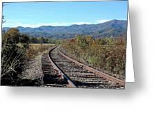 Rocky Creek Railroad Greeting Card