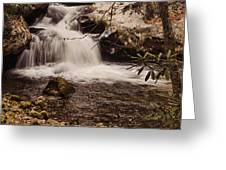 Rocky Fork Falls Greeting Card