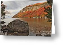 Rocky Lake Willoughby Greeting Card