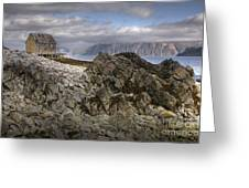 Rocky Land Greeting Card