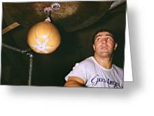 Rocky Marciano  Greeting Card