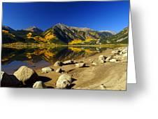 Rocky Mountain Beach Greeting Card