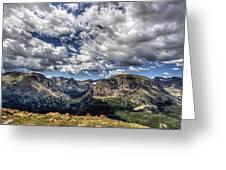 Rocky Mountain Dreams Greeting Card