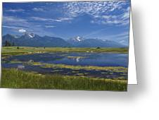 Rocky Mountain Lake Greeting Card