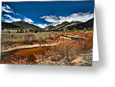 Rocky Mountain Meadows Greeting Card