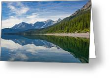 Rocky Mountain Moment Greeting Card by Laura Bentley