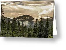 Rocky Mountain Red Greeting Card