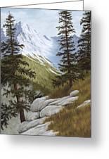 Rocky Mountain Solitude Greeting Card