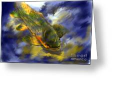 Rocky Mountain Trout  Greeting Card