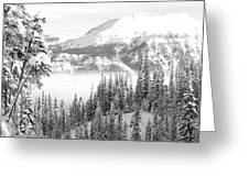 Rocky Mountain Vista Greeting Card
