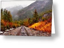 Rocky Mountaineer Greeting Card