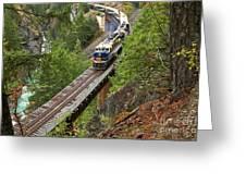 Rocky Mountaineer Railway Greeting Card