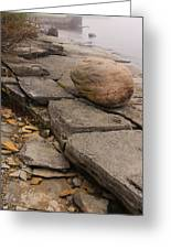 Rocky Shore 3 Greeting Card