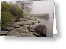 Rocky Shore 4 Greeting Card