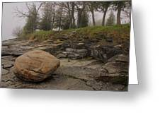 Rocky Shore 6 Greeting Card