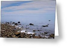 Rocky Shores Greeting Card