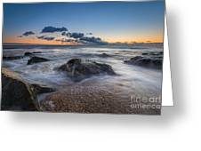 Rocky Sunrise Greeting Card
