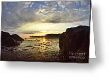 Sunrise Greeting Card by Stephanie  Varner