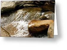 Rocky Waters Greeting Card