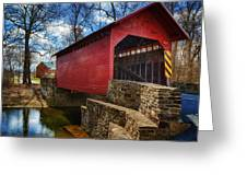 Roddy Road Covered Bridge Greeting Card