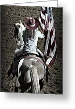 Rodeo America Greeting Card