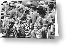Rodeo Cowboy Prisoners Greeting Card