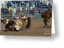 Rodeo Crunch Time Greeting Card