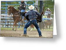 Rodeo Easy Does It Greeting Card