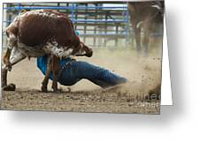 Rodeo Getting Down Greeting Card