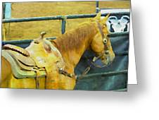 Rodeo Horse Greeting Card