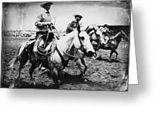 Rodeo Men Greeting Card