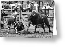 Rodeo Mexican Standoff Greeting Card