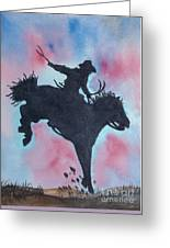 Rodeo No 1 Greeting Card