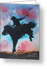 Rodeo No 2 Greeting Card