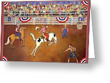 Rodeo One Greeting Card