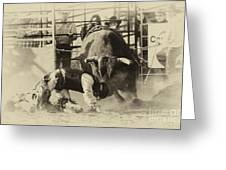 Rodeo Prepared To Be Punished Greeting Card