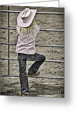 Rodeo Queen Wanna Be Greeting Card