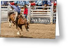 Rodeo Ride Greeting Card