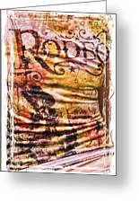 Rodeo T-shirt Greeting Card