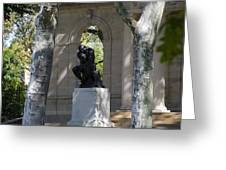 Rodin Museum - Philadelphia Greeting Card