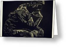 Rodin Greeting Card