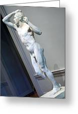 Rodin's The Vanguished -- 2 Greeting Card