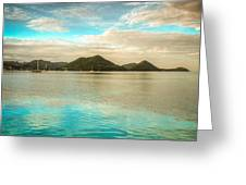 Rodney Bay Glow Greeting Card