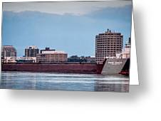 Roger Blough With Sarnia Skyline Greeting Card
